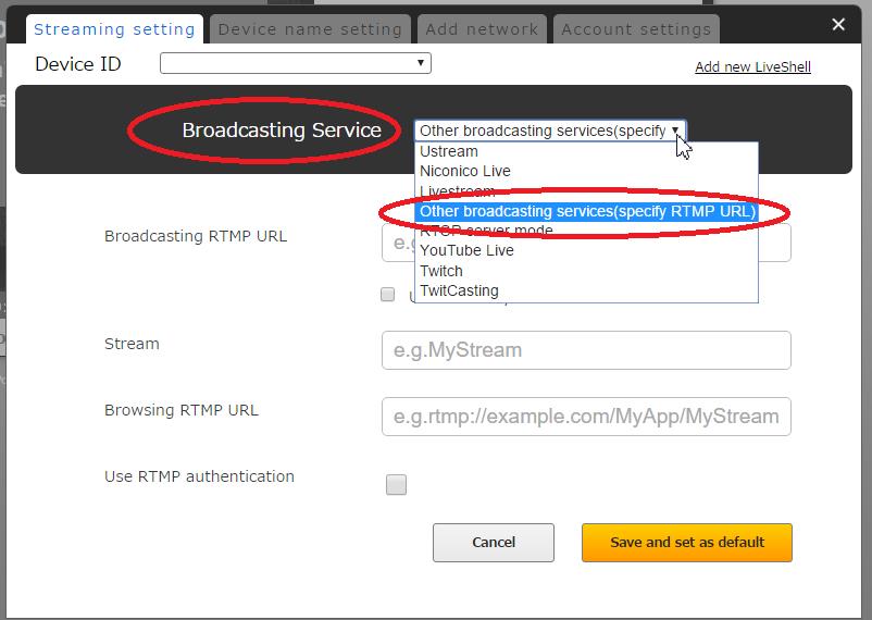 How to broadcast to a YouTube Live backup server | LiveShell